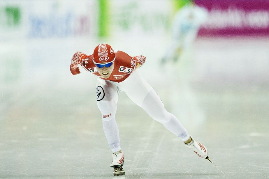 Olga Graf... (Photo JERRY LAMPEN, archives Agence France-Presse)