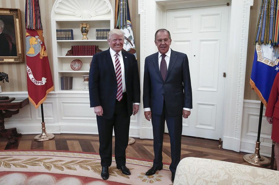 Le nom du ministre russe des Affaires étrangères,... (PHOTO AFP)