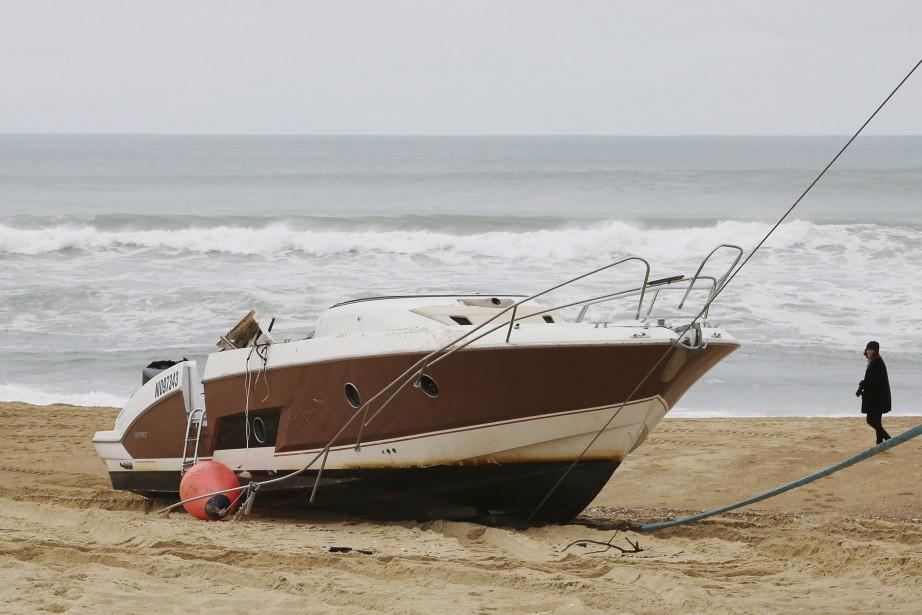 Le bateau de Pierre Agnès a été retrouvé... (PHOTO AP)