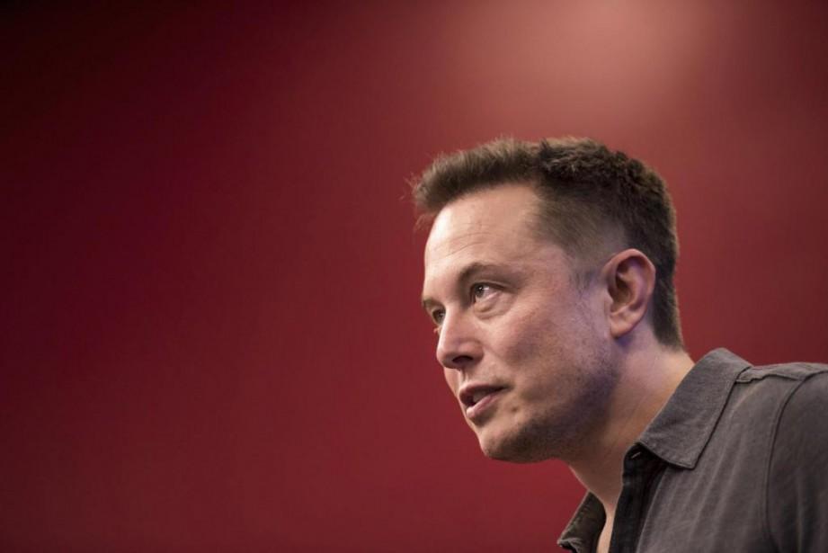 En milieu de journée hier, Elon Musk a... (PhotoDavid Paul Morris, Archives Bloomberg)