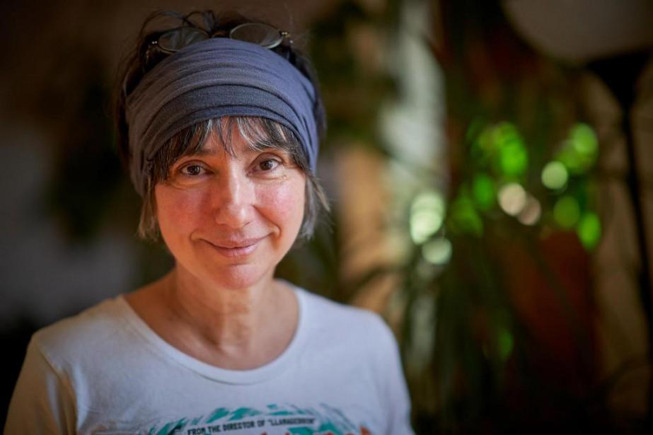L'auteure Suzanne Myre... (photo andré pichette, la presse)