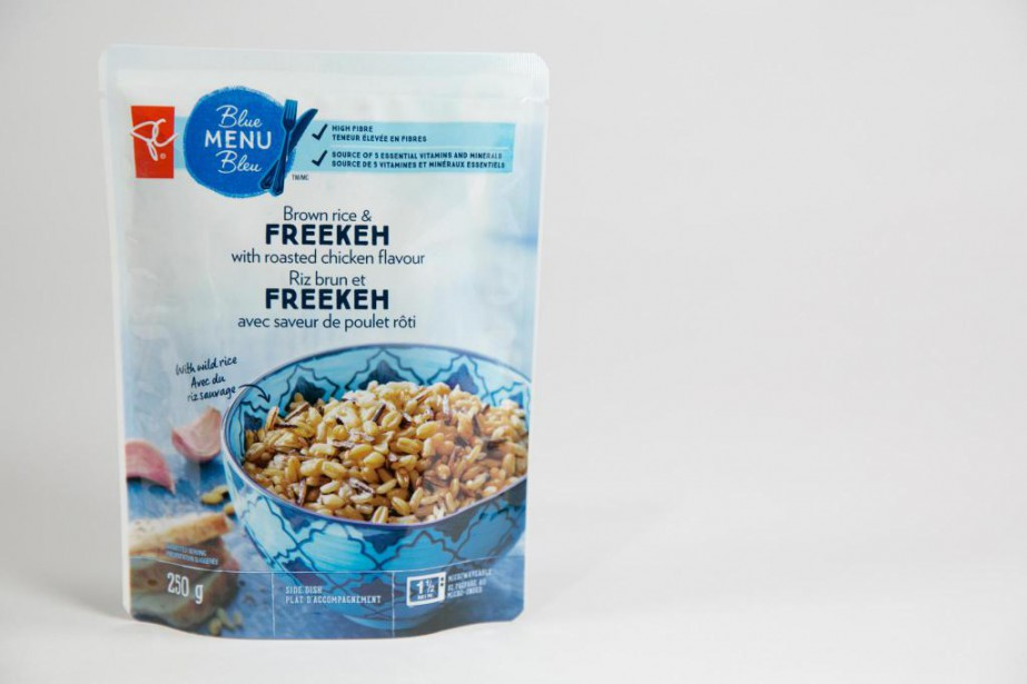 Riz brun et freekeh de PC Menu Bleu... (Photo François Roy, La Presse)