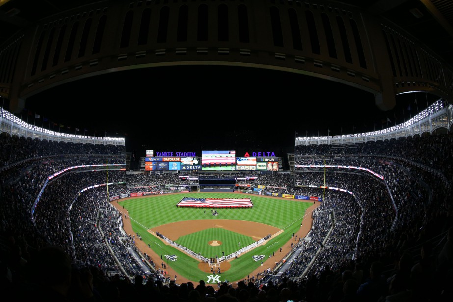 Le 25 mai dernier, au Yankee Stadium, un... (Photo Brad Penner, USA TODAY Sports)