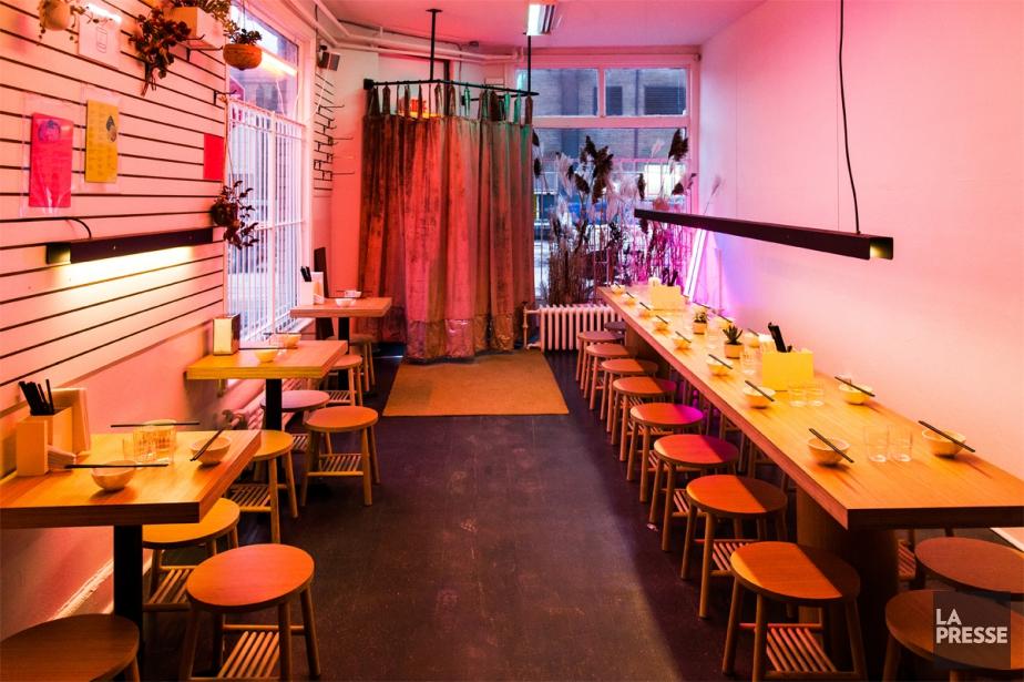 Au Café Denise, on remarque l'élégance actuelle de... (Photo Martin Tremblay, La Presse)