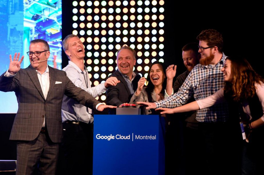 Le directeur de Google Cloud Canada, James Lambe... (Photo Bernard Brault, La Presse)