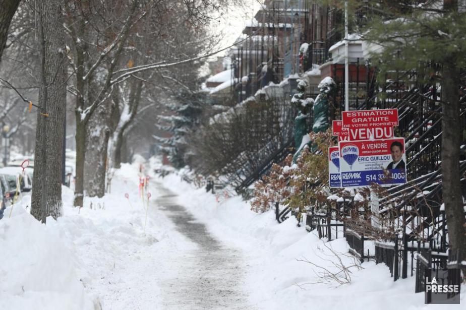L'an dernier a été exceptionnel en immobilier. Que... (Photo Martin Chamberland, La Presse)