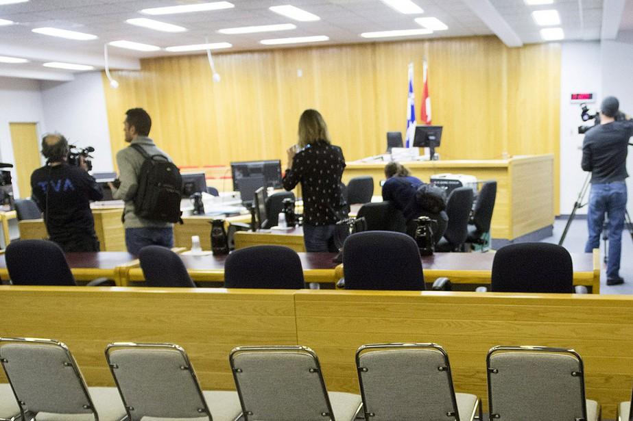 La salle de cour où a été donné... (Ryan Remiorz, archives PC)
