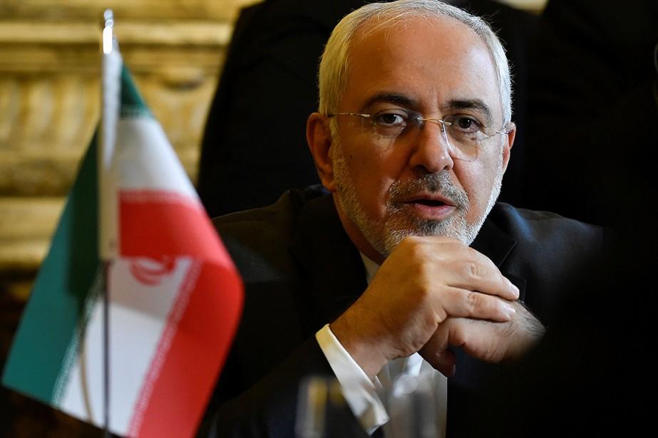 Le ministre des Affaires étrangères iranien Mohammad Javad... (PHOTO JOHN THYS, ARCHIVES AGENCE FRANCE-PRESSE)