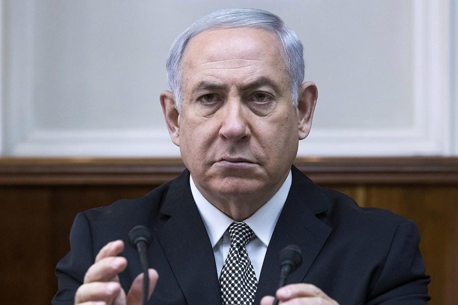 Le premier ministre israélien Benyamin Nétanyahou.... (Jim Hollander, AP)