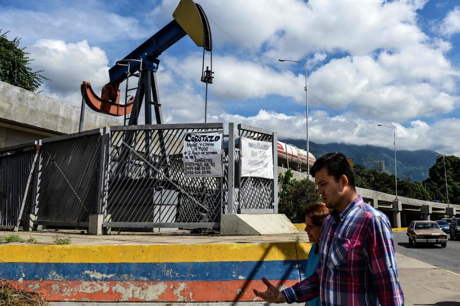 Le pétrole est la seule richesse du Venezuela,... (AFP)