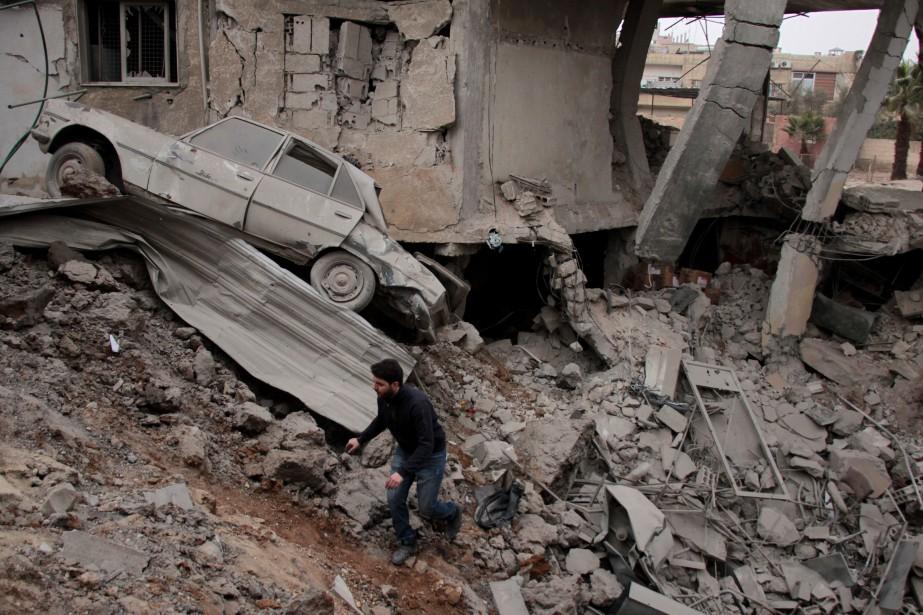 Déclenché en 2011 par la violente répression de... (PHOTO AFP)