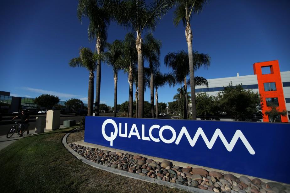 Qualcomm est déjà le troisième fournisseur mondial de... (REUTERS)