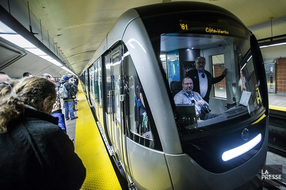 L'achat d'un train représentant environ 20 millions, la... (Photo Olivier Pontbriand, archives La Presse)