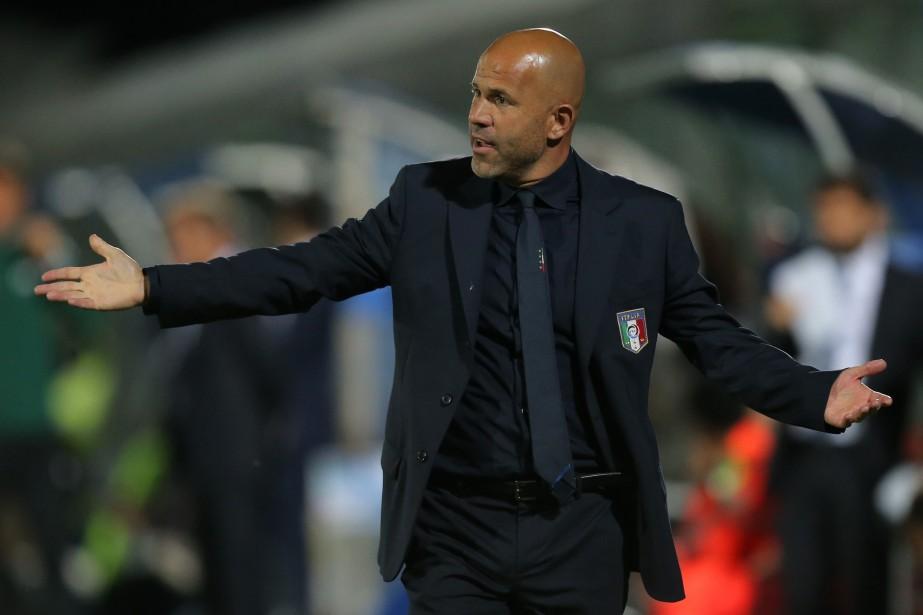 Luigi Di Biagio... (Photo Marco Bertorello, archives AFP)