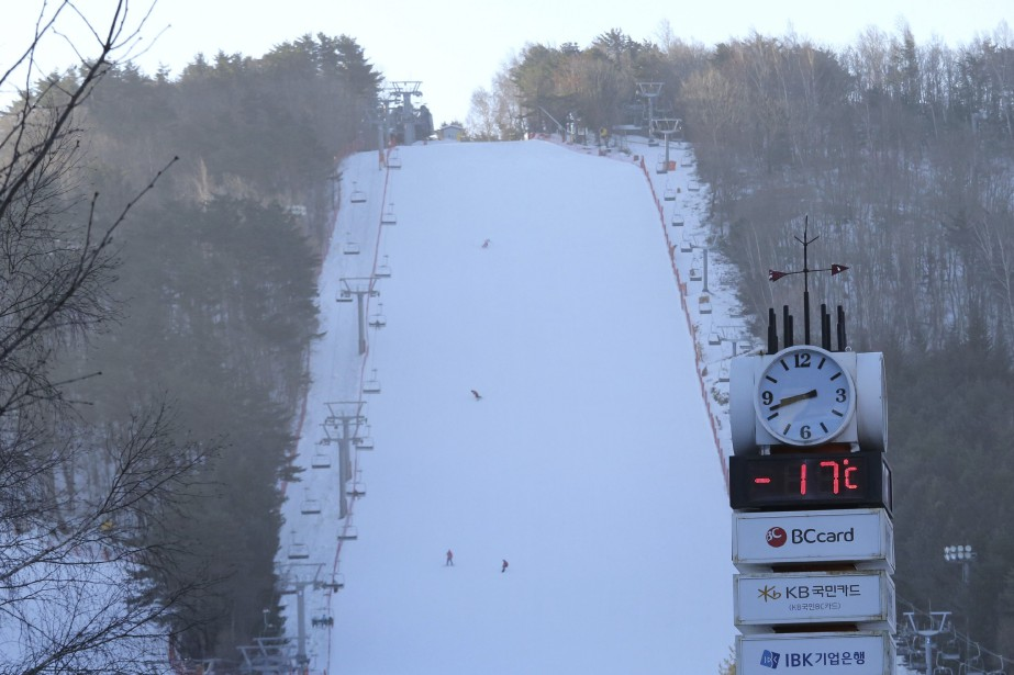 Les Jeux olympiques de PyeongChang pourraient bien être... (Photo Ahn Young-joon, archives AP)