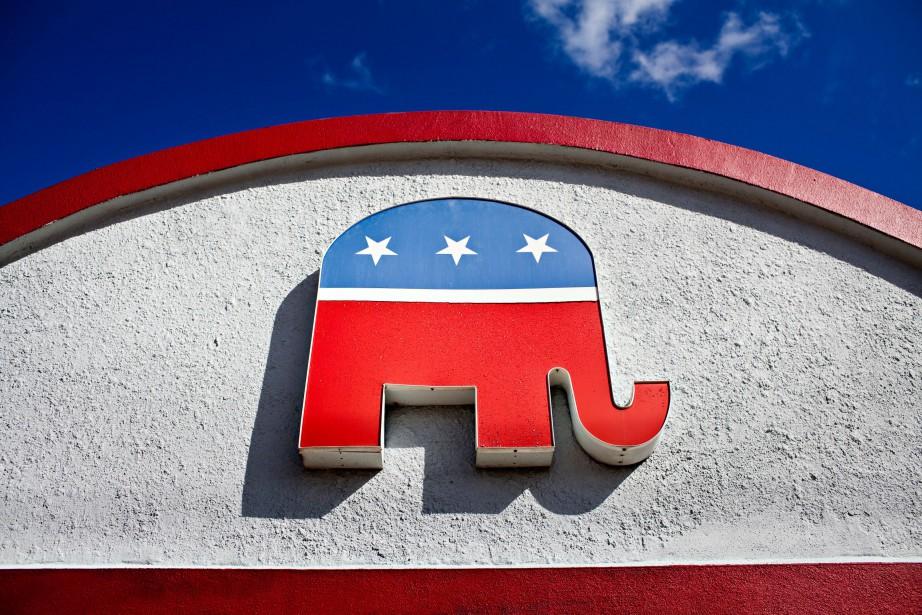 Le logo du Parti républicain.... (Photo Jason Henry, archives The New York Times)
