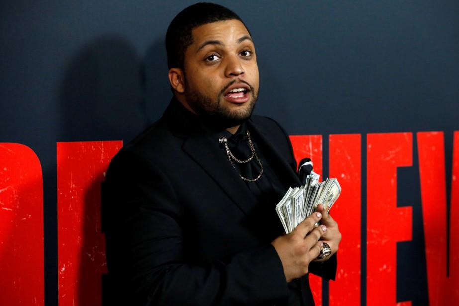 O'Shea Jackson Jr. à la première de Den... (Photo archives Reuters)