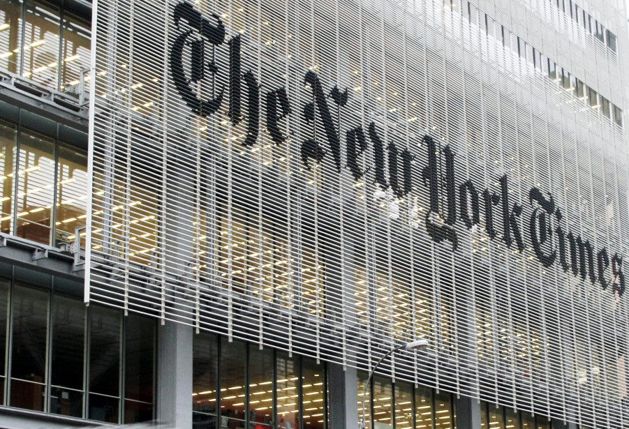 Le New York Times a enregistré au quatrième... (Photo archives AP)