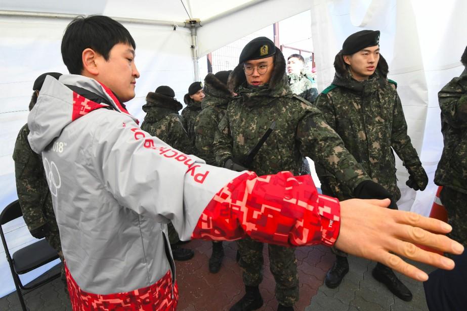 Le comité d'organisation des Jeux de PyeongChang avait... (Photo Jung Yeon-Je, AFP)