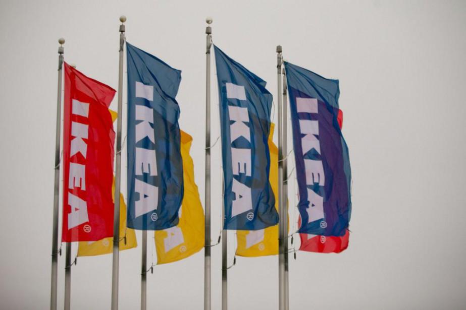 Le fondateur d'IKEA, Ingvar Kamprad, a eu l'idée... (Photo David Boily, Archives La Presse)