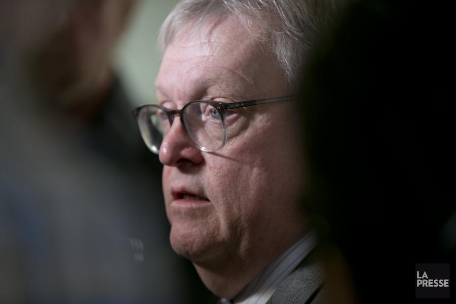 Le ministre de la Santé et des Services... (Photo David Boily, La Presse)