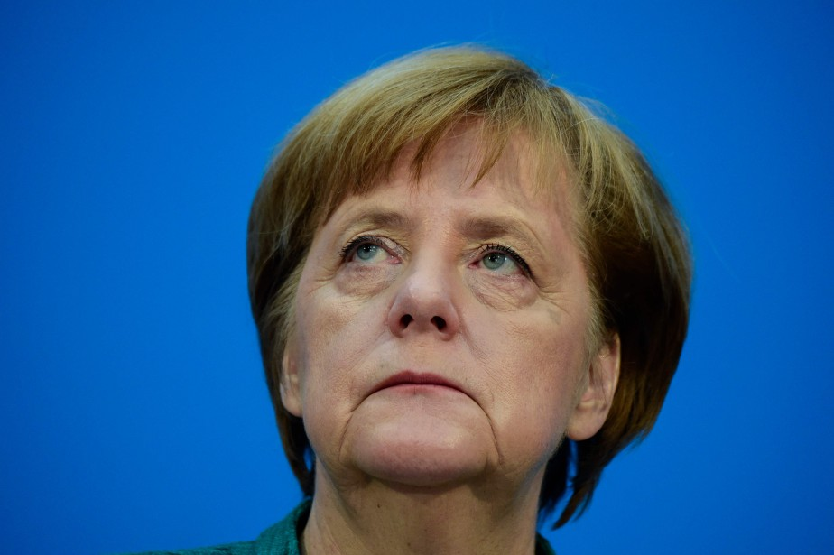 Angela Merkel... (Photo Tobias Schwarz, Agence France-Presse)