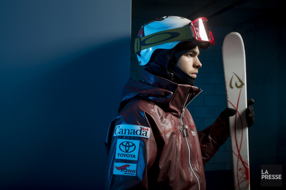 Mikaël Kingsbury détient le record de victoires en... (Photo Olivier Jean, La Presse)