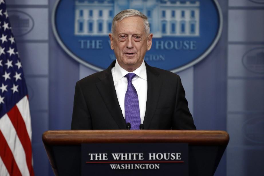 Le secrétaire de la Défense Jim Mattis.... (Photo Carolyn Kaster, archives Associated Press)