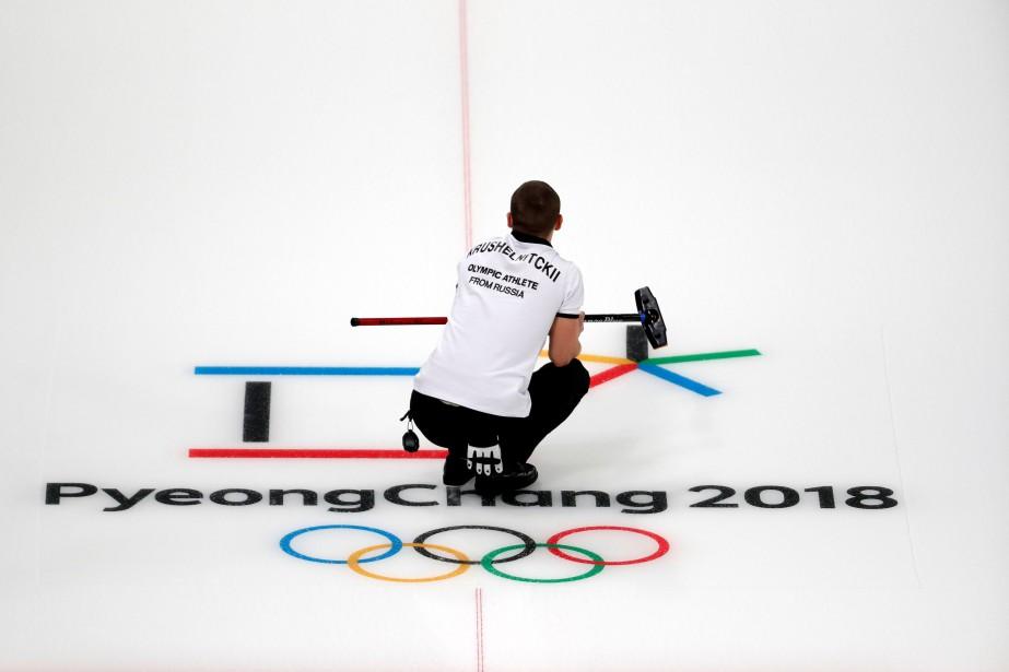 Le Centre de curling de Gangneung accueille les... (Photo Cathal McNaughton, Reuters)