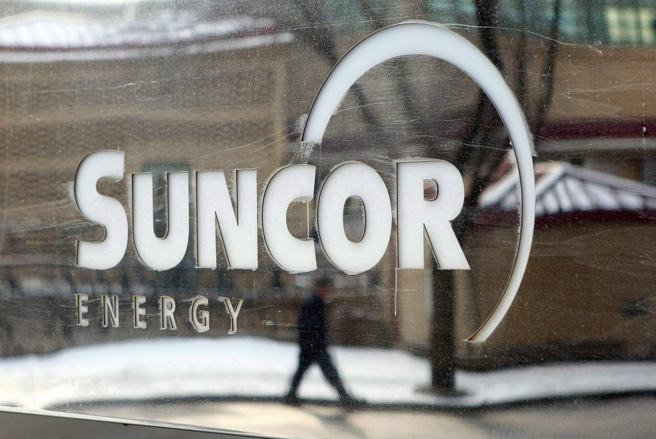 Suncor Energy, à Calgary... (Photo Jeff McIntosh, La Presse canadienne)