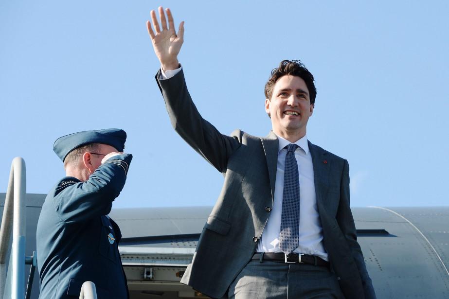 Le premier ministre Justin Trudeau lors de son... (PHOTO Ryan Remiorz, LA PRESSE CANADIENNE)