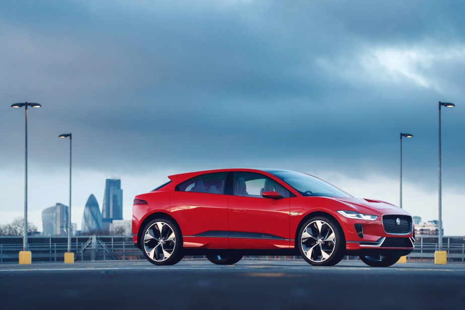 Jaguar i-Pace (Photo : Jaguar-Land Rover)