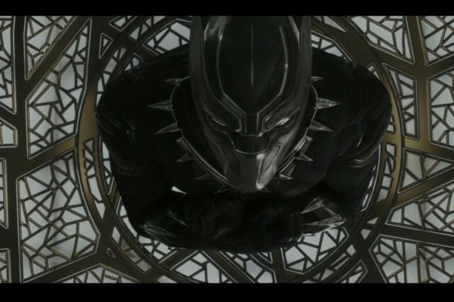 Black Panther est le premier film de la... (Image fournie par Marvel Studios)