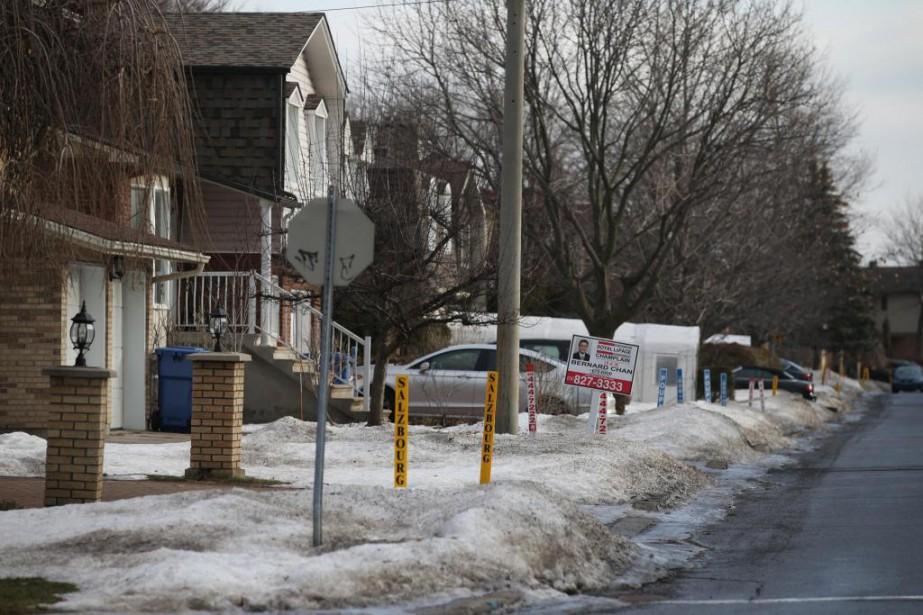 Dans certains quartiers chauds de Montréal, à l'heure... (Photo Martin Chamberland, Archives La Presse)