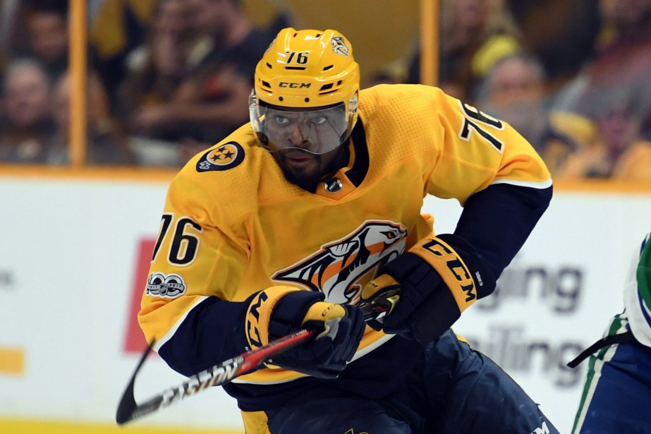 P.K. Subban domine les défenseurs de la LNH avec... (Photo USA Today Sports)