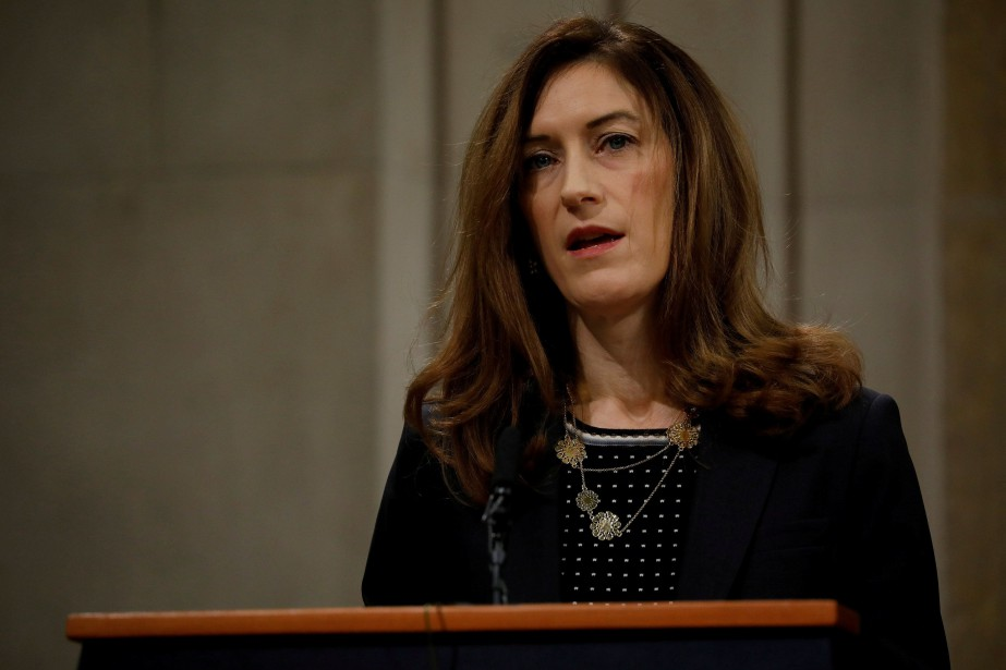Rachel Brand se trouvait en position d'avoir à éventuellement... (PHOTO Aaron P. Bernstein, ARCHIVES REUTERS)