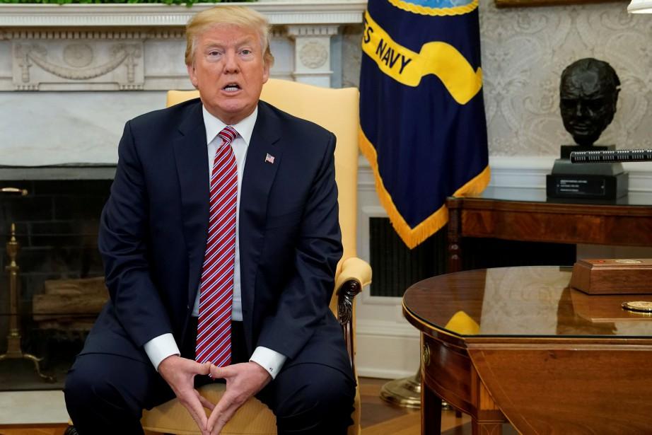 Donald Trump a refusé de publier un document... (REUTERS)