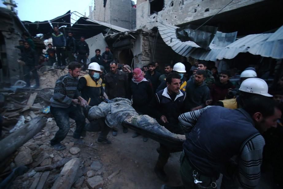 Les services du haut commissariat ont répertorié «au... (PHOTO ABDULMONAM EASSA, AFP)