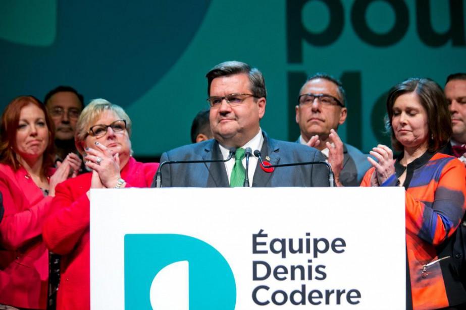 Équipe Denis Coderre a dépensé 420 000$ pour... (PHOTO DAVID BOILY, ARCHIVES LA PRESSE)