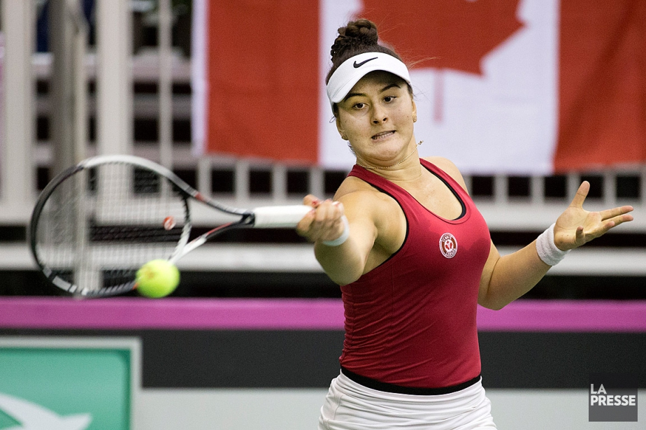 Bianca Andreescu... (PHOTO ROBERT SKINNER, ARCHIVES LA PRESSE)