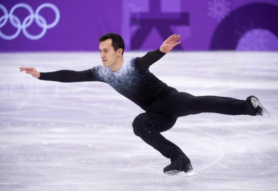 Le Canadien Patrick Chan lors de la présentation... (PhotoPaul Chiasson, La Presse canadienne)