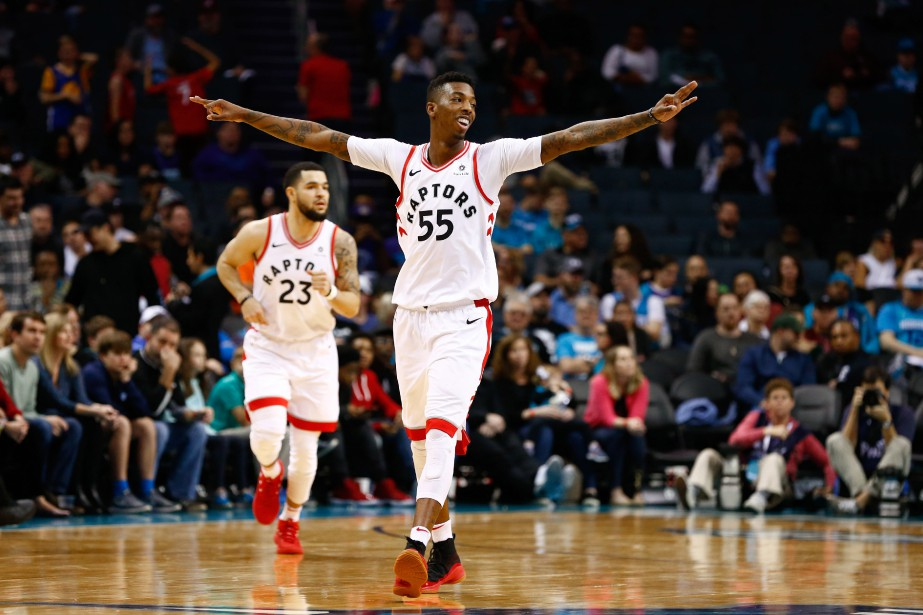 DeMar DeRozan a récolté 25 points et huit aides, C.J Miles a... (PHOTO REUTERS)