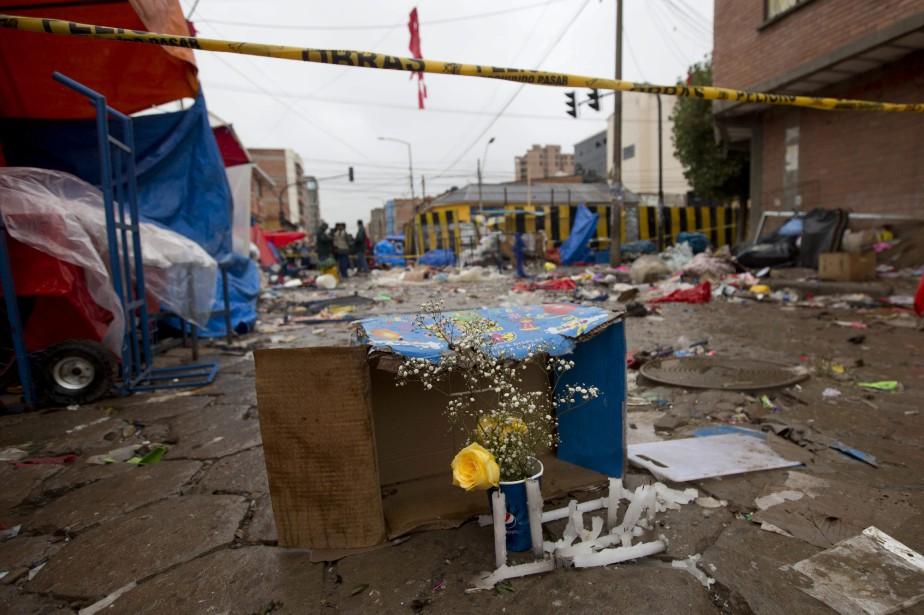 Dans l'accident le plus grave, l'explosion d'une bonbonne... (PHOTO AP)
