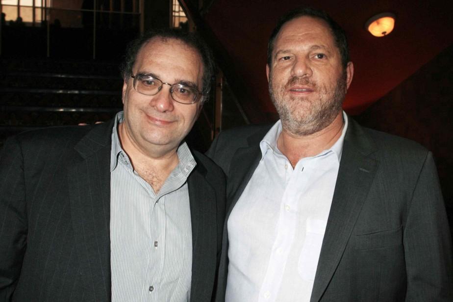 Les producteurs Bob et Harvey Weinstein, lors de... (ARCHIVES REUTERS)
