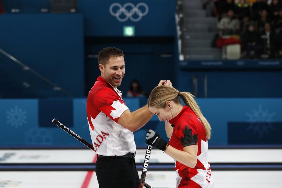 John Morris et Kaitlyn Lawes.... (PHOTO REUTERS)