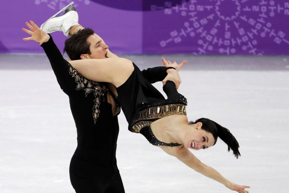 Tessa Virtue et Scott Moir.... (PHOTO REUTERS)