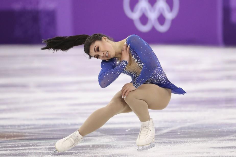 Gabrielle Daleman s'est classée troisième sur les cinq... (REUTERS)