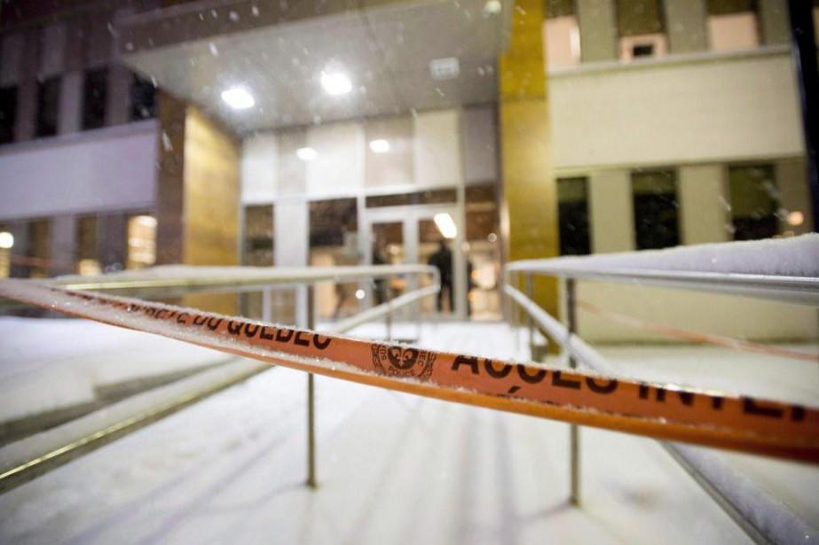 Le 31janvier dernier, Steven Bertrand a été atteint... (Photo Justin Tang, archives La Presse canadienne)