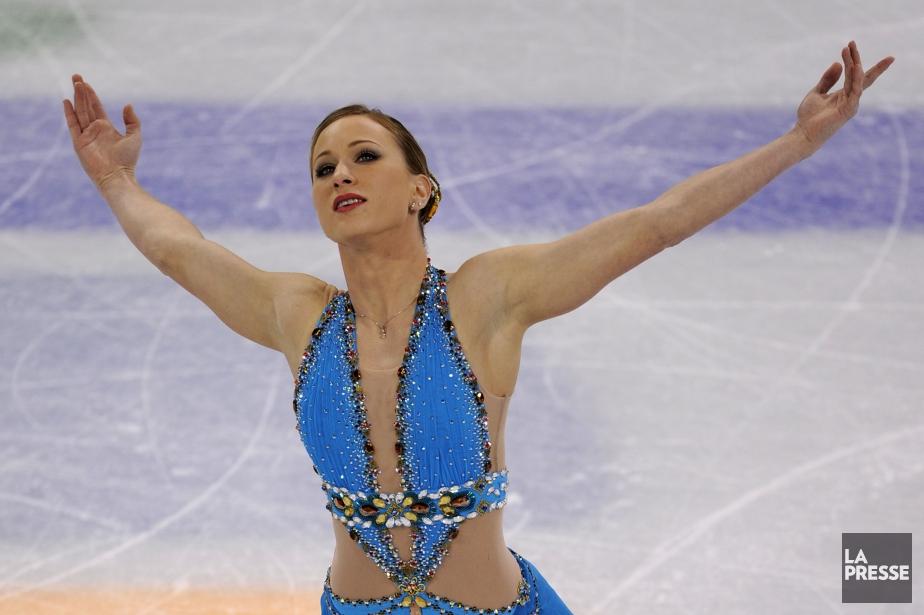 Joannie Rochette lors des Jeux de Vancouver, en... (Photo Bernard Brault, archives La Presse)