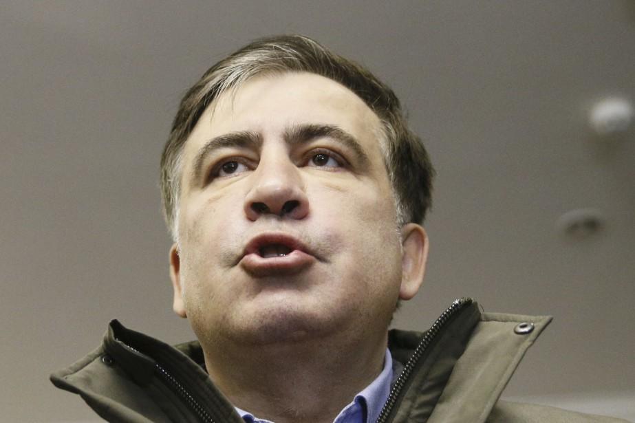 Mikheïl Saakachvili... (Photo Valentyn Ogirenko, archives REUTERS)